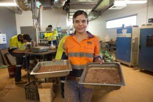HiQA Concrete Testing in Lab