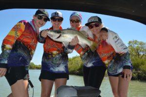 HiQA Proud sponser of Girls Gone Fishin'- Team Birdsnest
